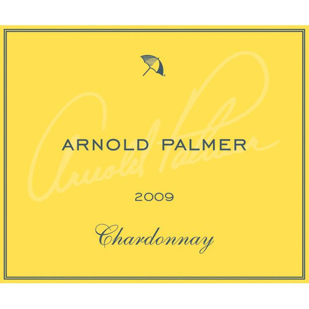 Arnold Palmer Chardonnay 2009 Front Label