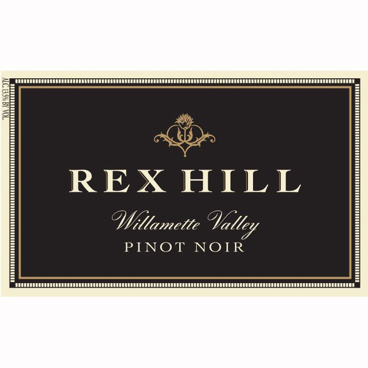 Rex Hill Willamette Valley Pinot Noir 2010 Front Label