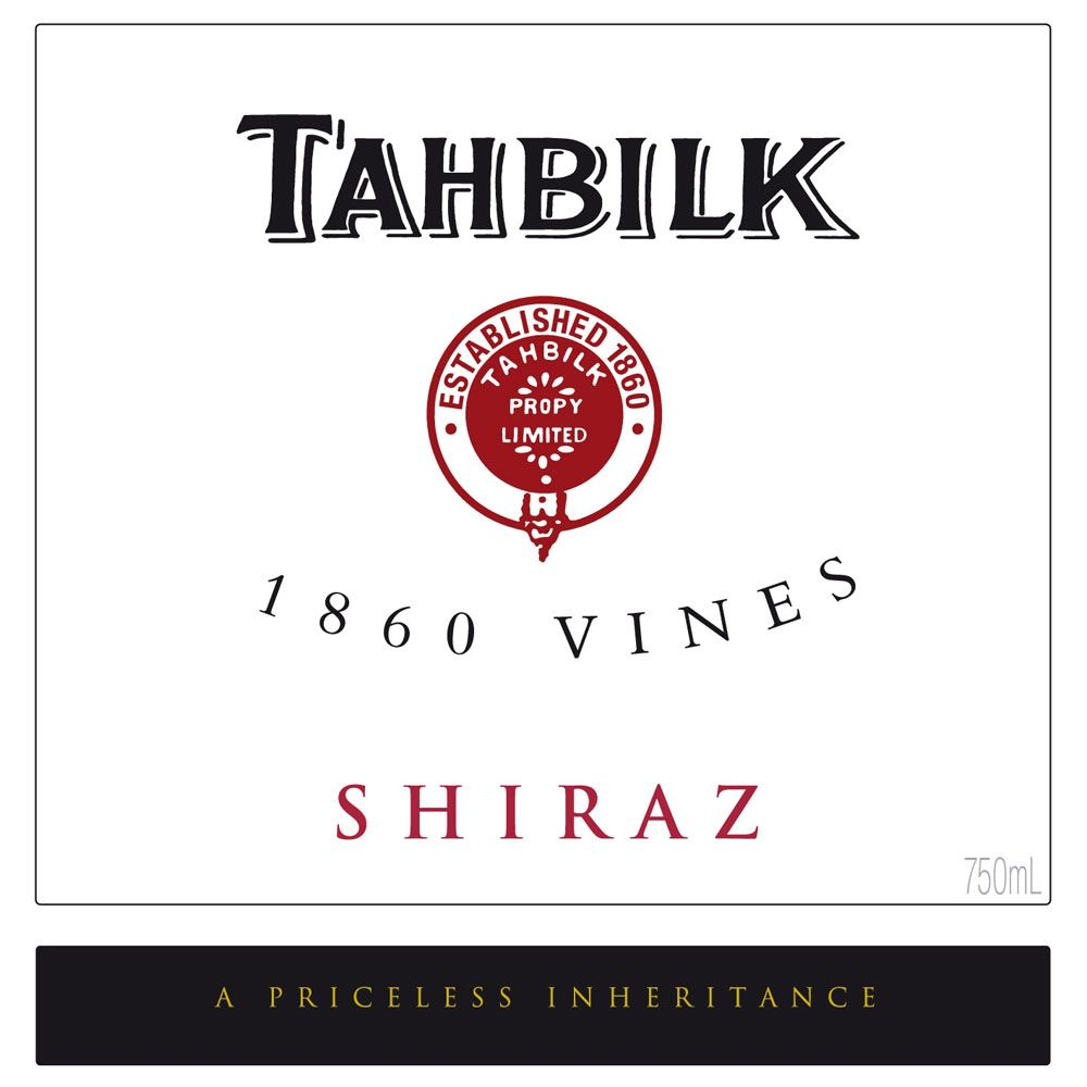 Tahbilk 1860 Vines Shiraz 2006 Front Label