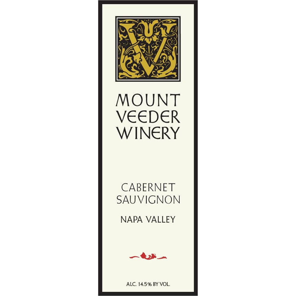 Mount Veeder Winery Cabernet Sauvignon 2009 Front Label