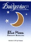 Bridgeview Blue Moon Riesling Front Label