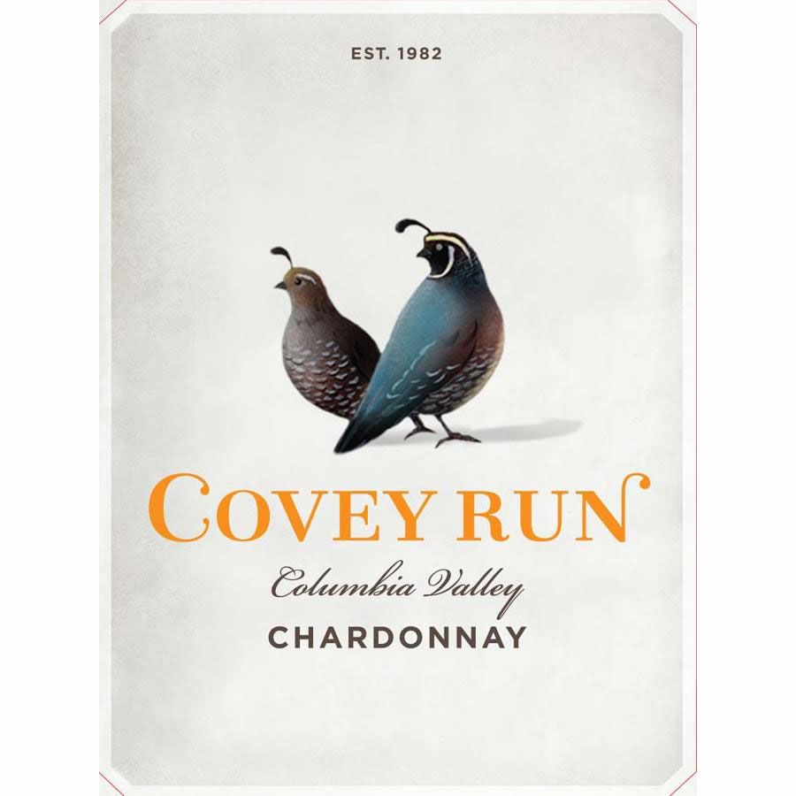 Covey Run Chardonnay 2010 Front Label