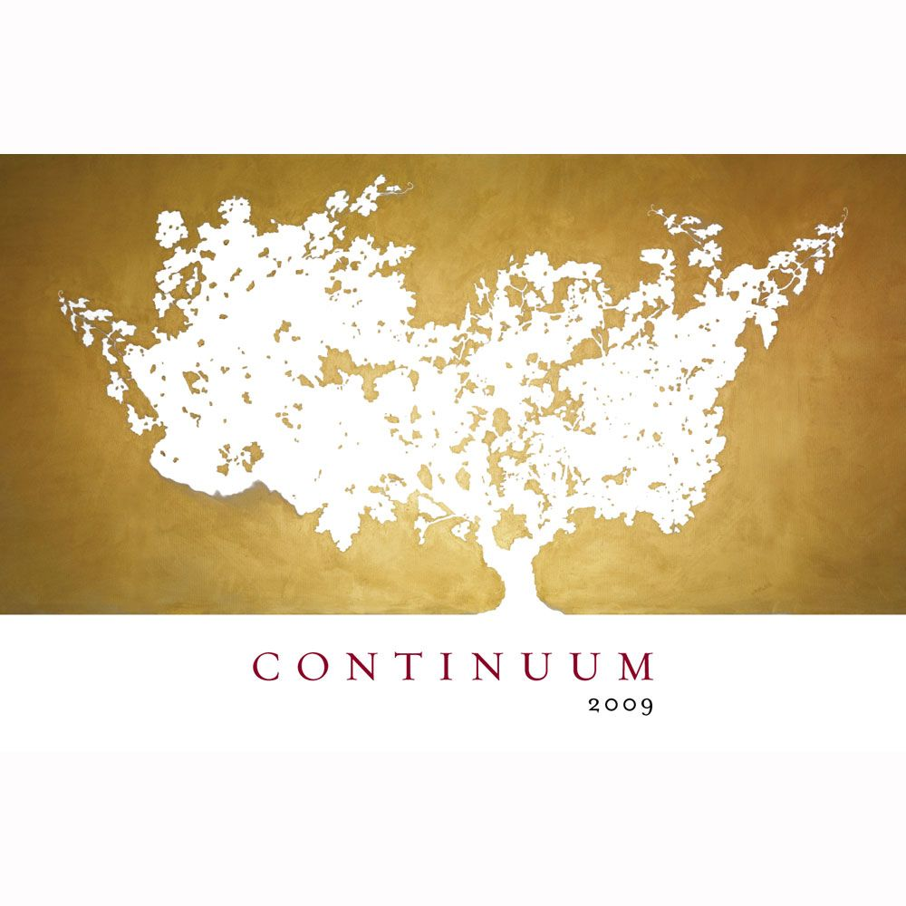 Continuum (signed) 2009 Front Label