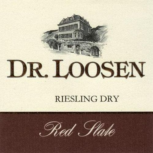Dr. Loosen Red Slate Dry Riesling 2010 Front Label