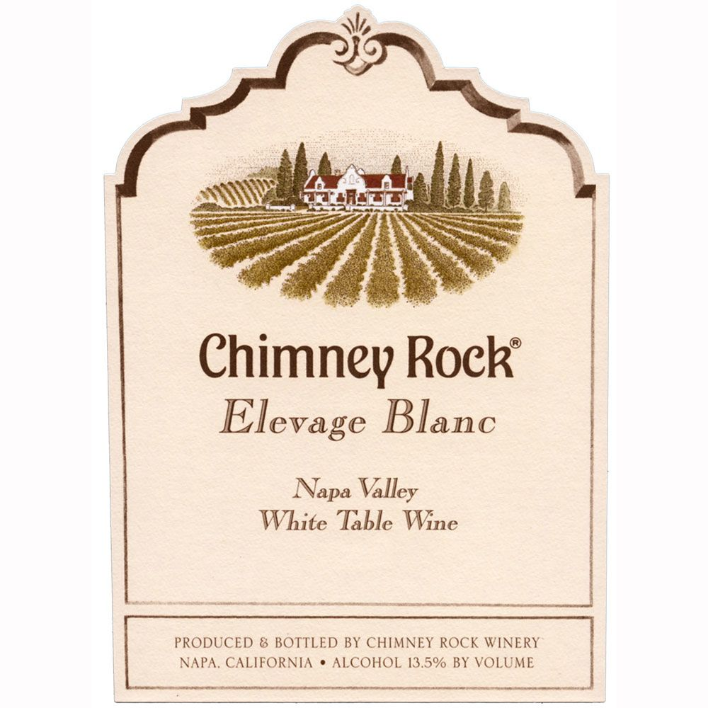 Chimney Rock Elevage Blanc 2008 Front Label