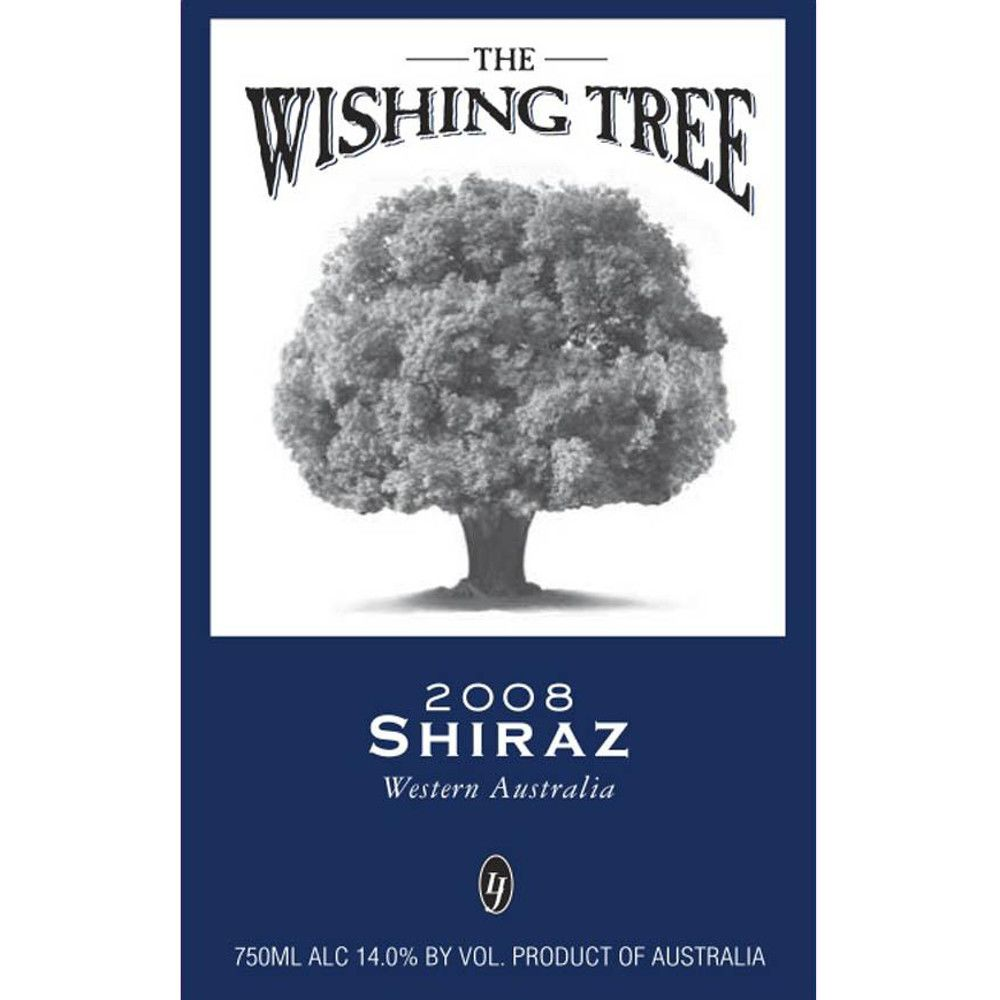 Wishing Tree Shiraz 2008 Front Label