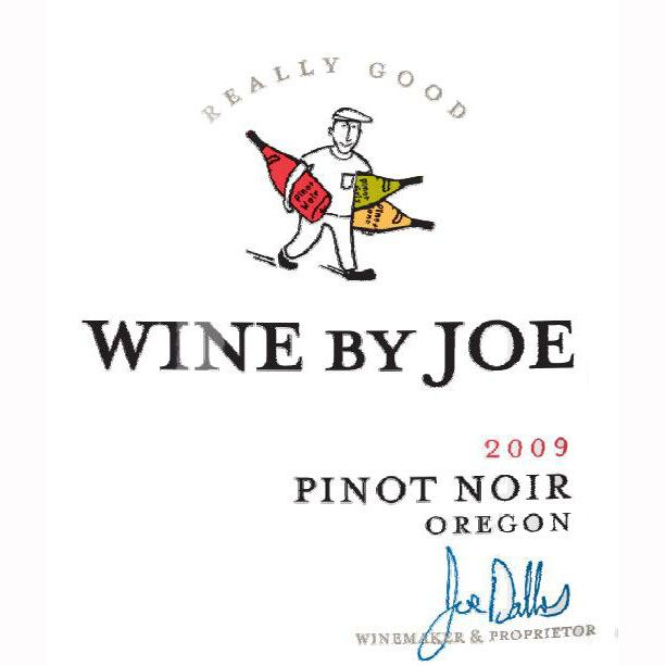 Wine By Joe Pinot Noir 2009 Front Label