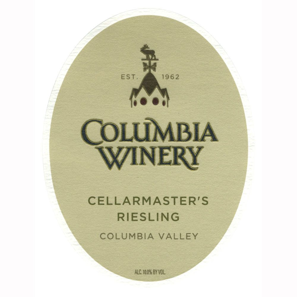 Columbia Winery Cellarmaster's Riesling 2010 Front Label