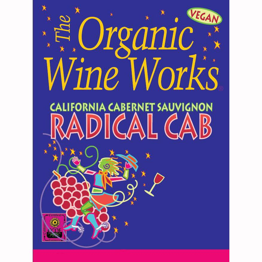 Organic Wine Works Radical Cab 2009 Front Label