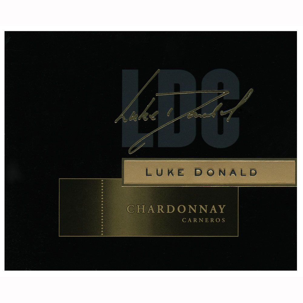 Luke Donald Collection Chardonnay 2010 Front Label