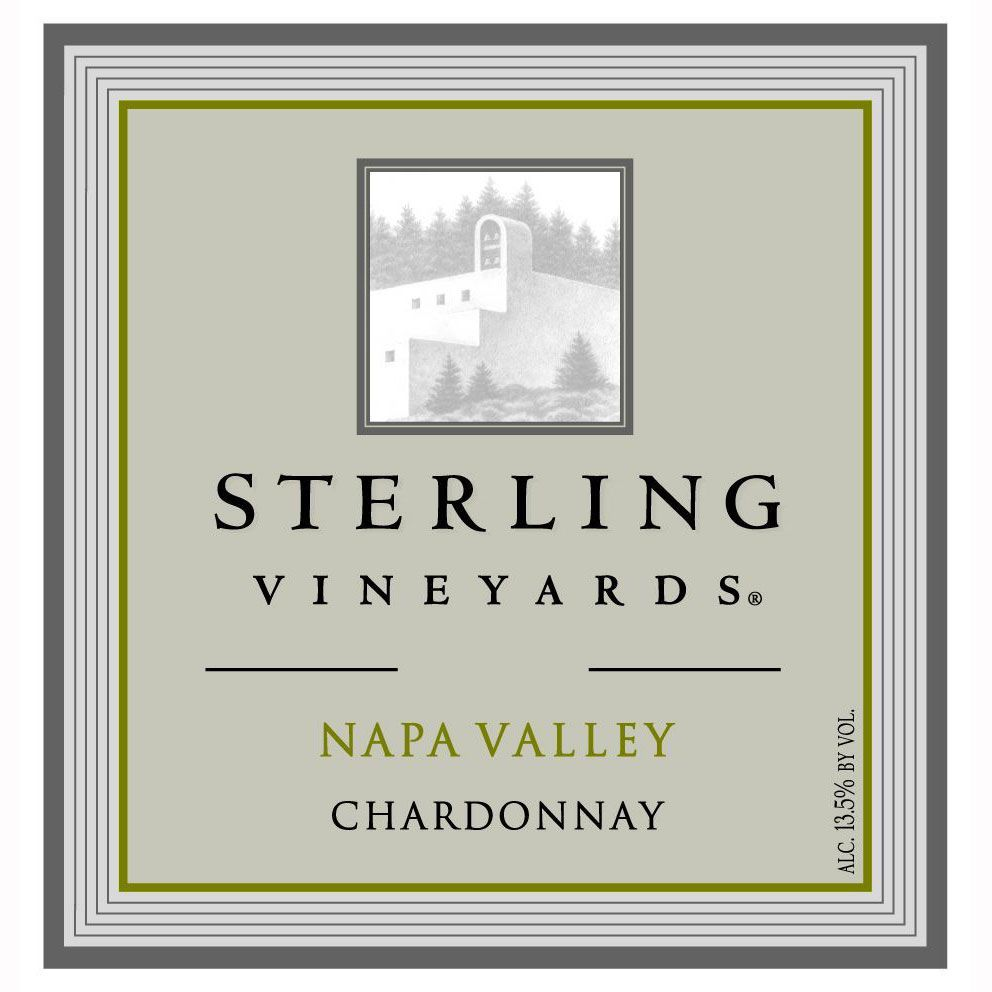 Sterling Napa Chardonnay 2010 Front Label