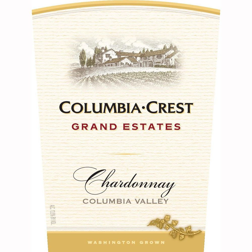 Columbia Crest Grand Estates Chardonnay 2010 Front Label