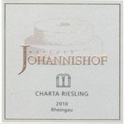 Weingut Johannishof Charta Riesling 2010 Front Label