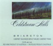 Coldstream Hills Briarston 1995 Front Label