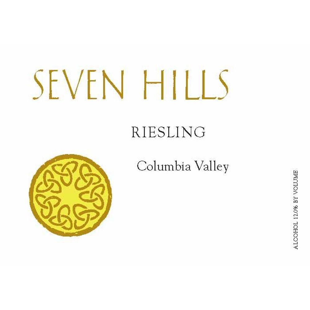 Seven Hills Winery Riesling 2010 Front Label