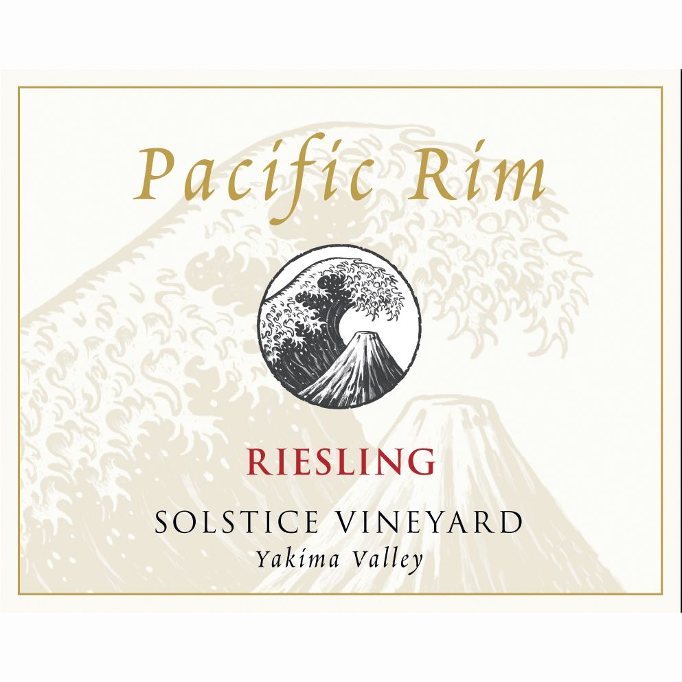 Pacific Rim Solstice Vineyard Riesling 2009 Front Label