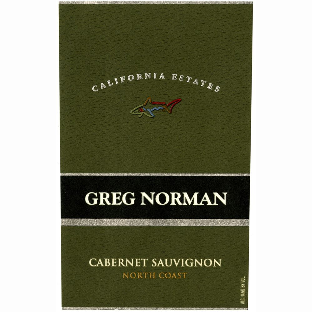 Greg Norman Estates California Estates Cabernet Sauvignon 2010 Front Label
