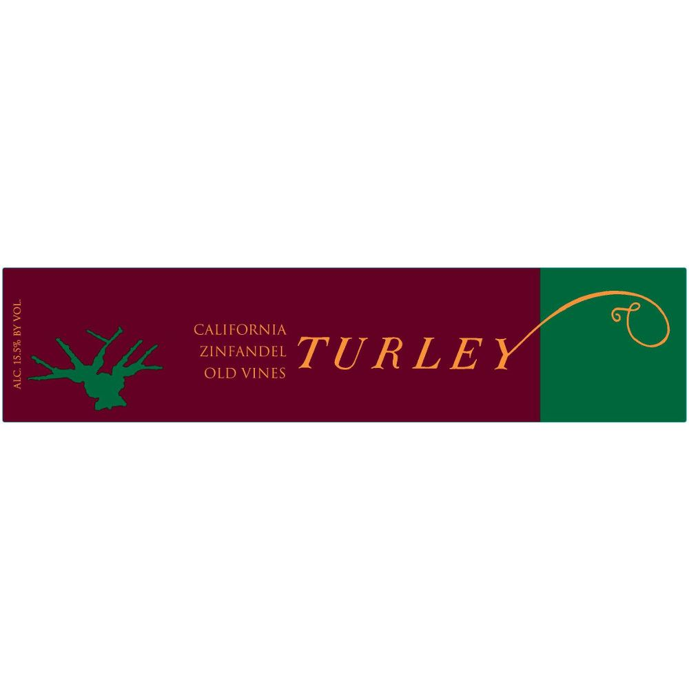 Turley Old Vines Zinfandel 2010 Front Label