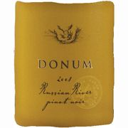 The Donum Estate Russian River Valley Pinot Noir 2008 Front Label
