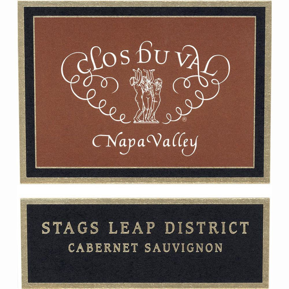 Clos Du Val Stags Leap District Cabernet Sauvignon 2008 Front Label