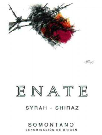Enate Syrah-Shiraz 2010 Front Label