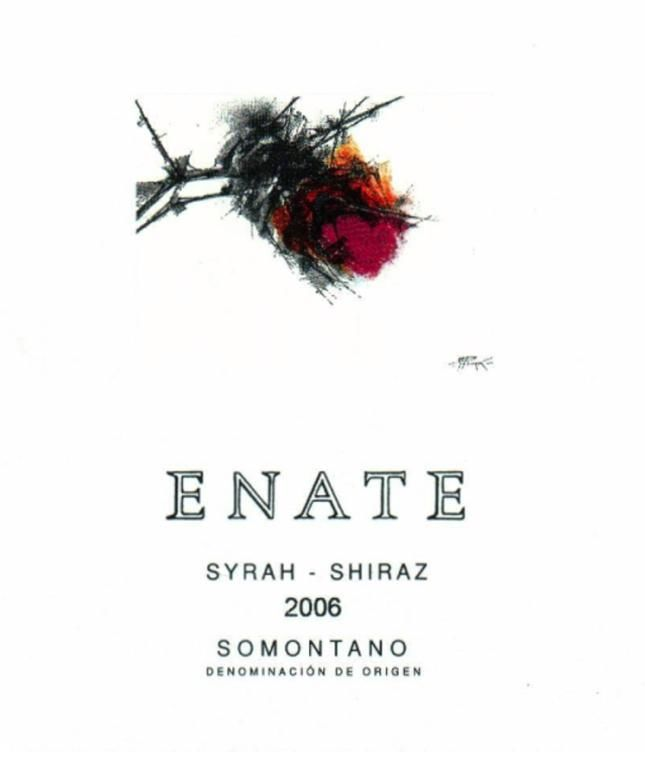 Enate Syrah-Shiraz 2006 Front Label