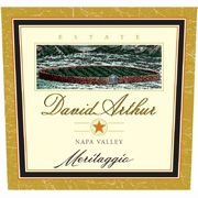 David Arthur Meritaggio 2002 Front Label