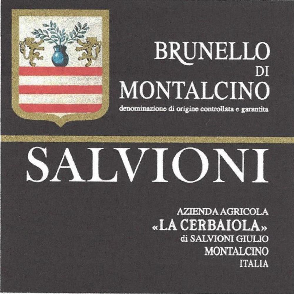Salvioni Brunello di Montalcino 2007 Front Label