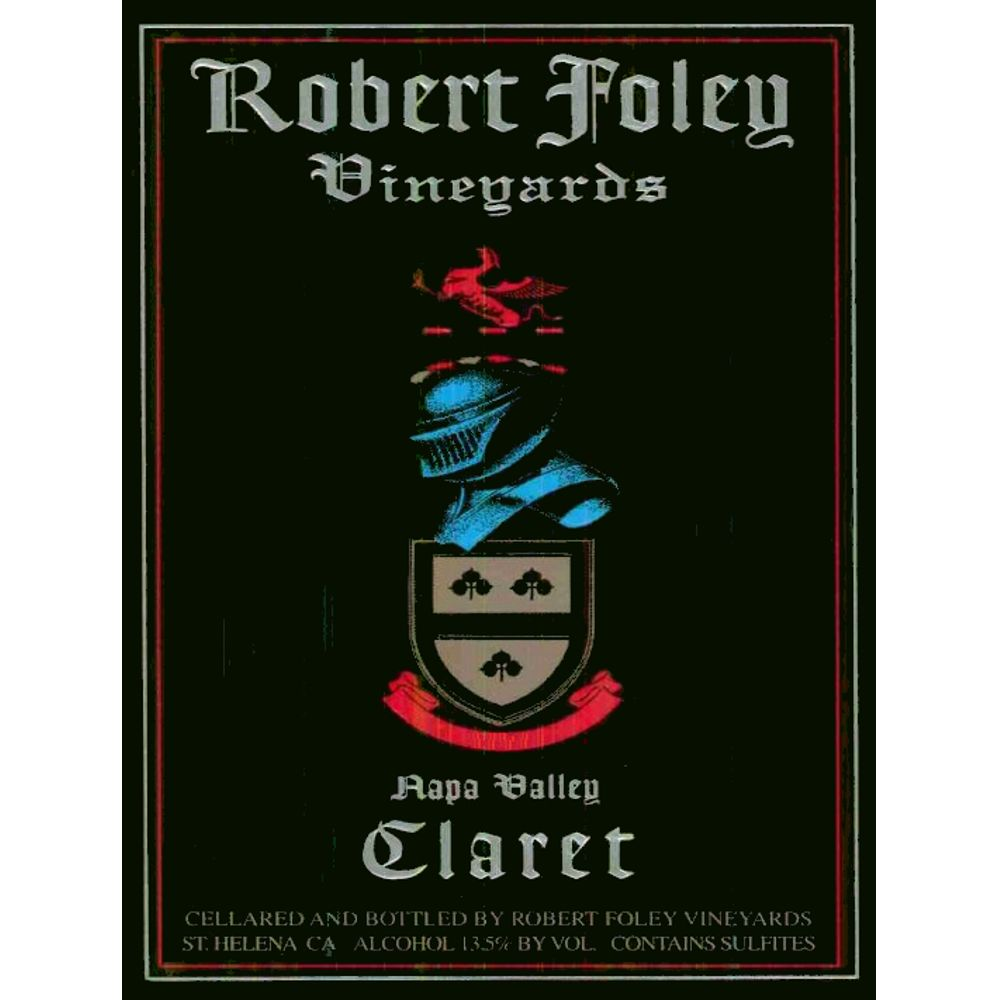 Robert Foley Vineyards Claret 2003 Front Label