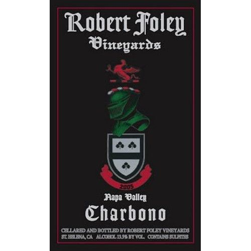Robert Foley Vineyards Charbono 2005 Front Label