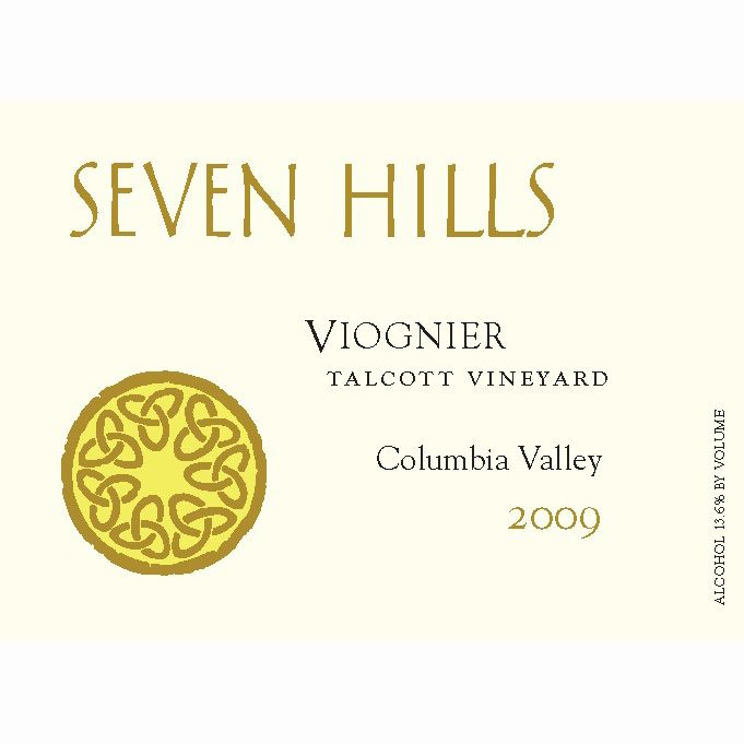 Seven Hills Winery Viognier 2009 Front Label