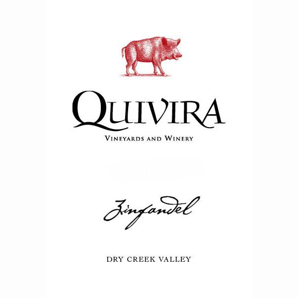 Quivira Dry Creek Valley Zinfandel 2010 Front Label