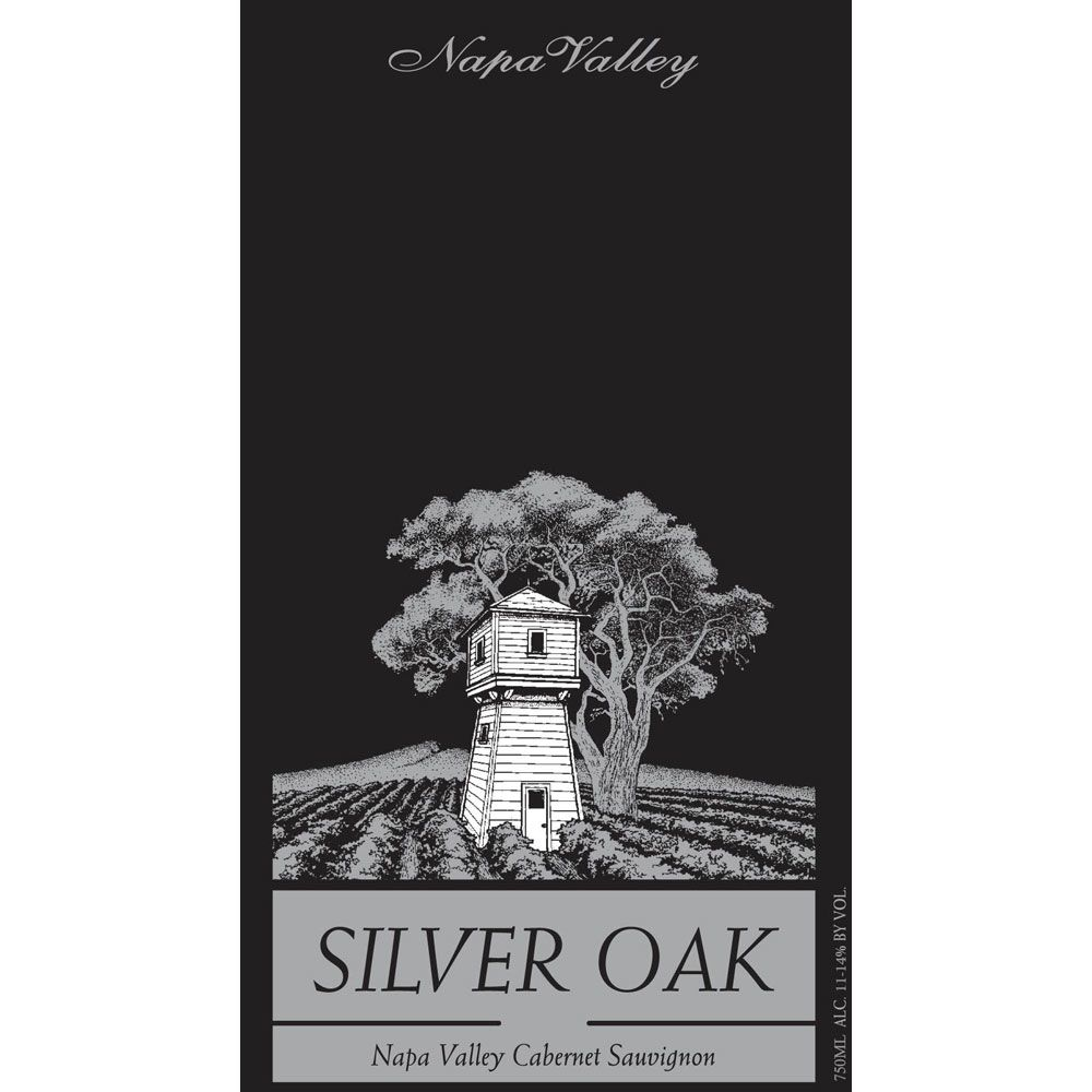 Silver Oak Napa Valley Cabernet Sauvignon 1996 Front Label
