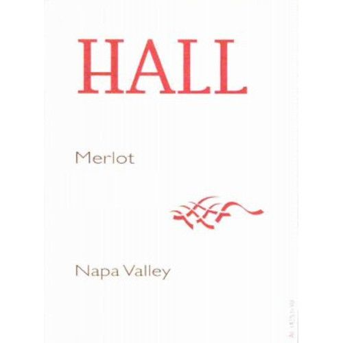 Hall Napa Valley Merlot 2008 Front Label