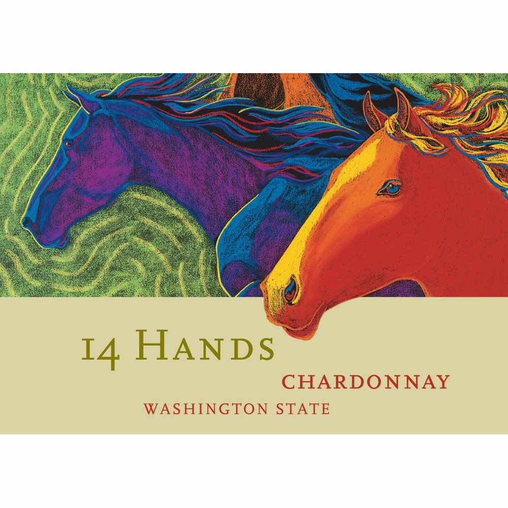14 Hands Chardonnay 2010 Front Label