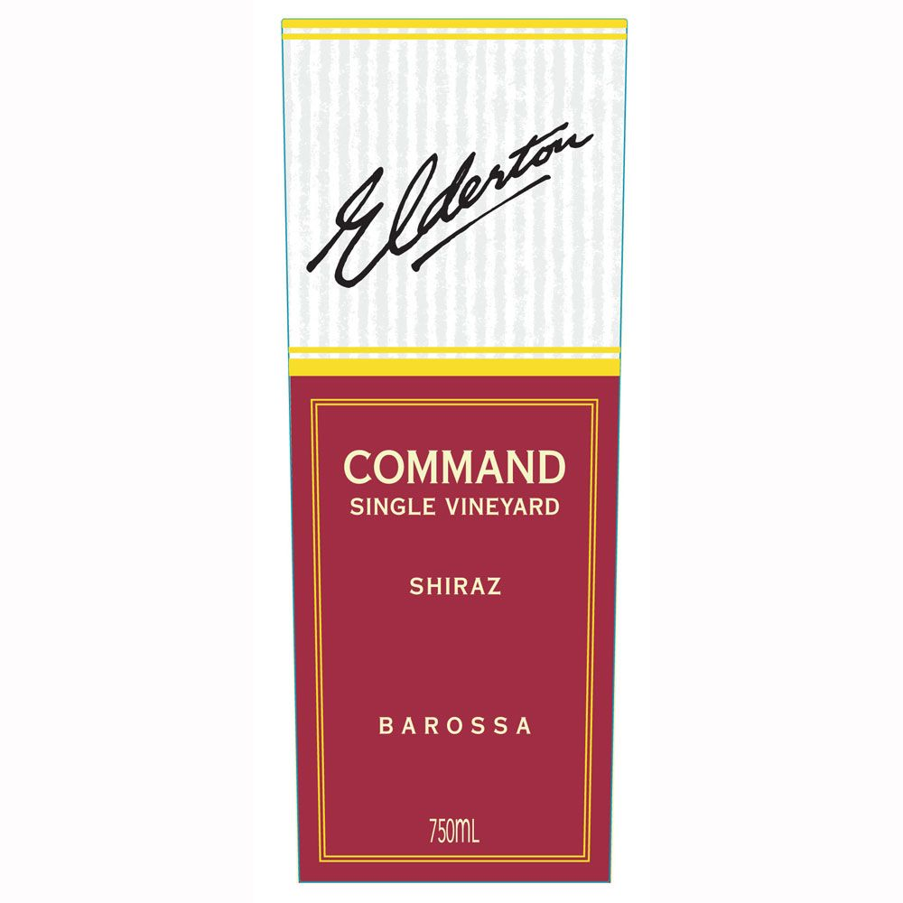 Elderton Command Shiraz 2007 Front Label