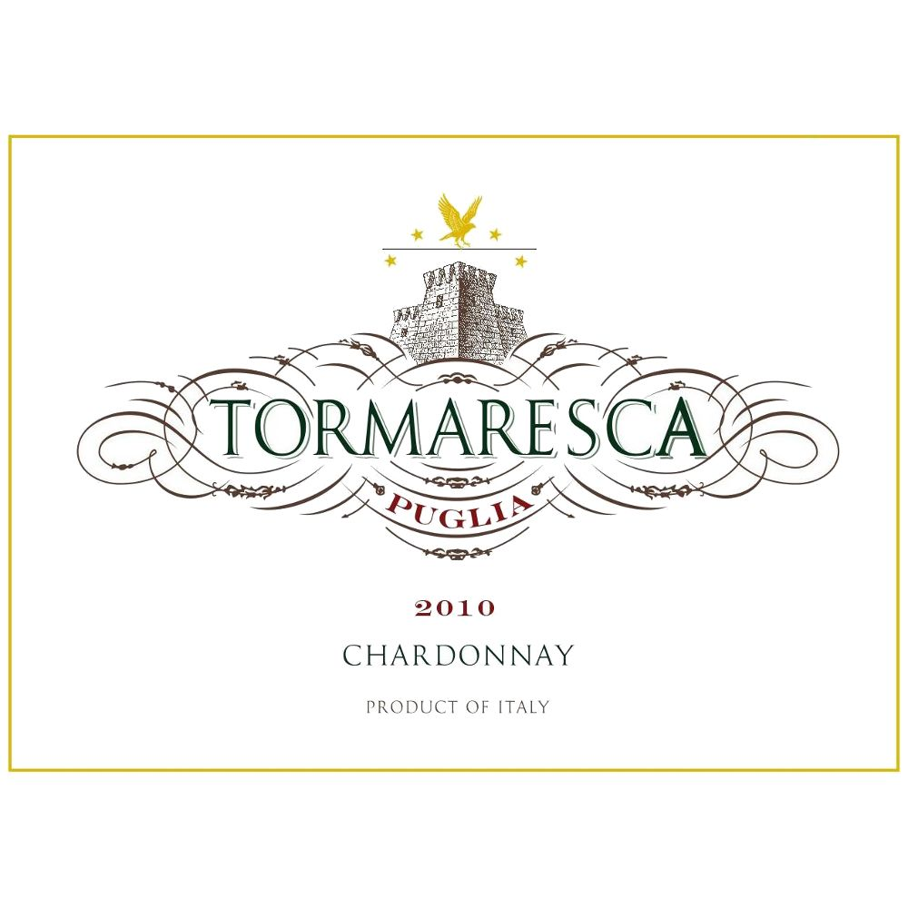 Tormaresca Chardonnay 2010 Front Label