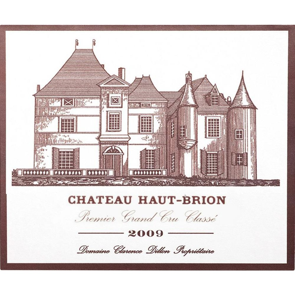 Chateau Haut-Brion  2009 Front Label