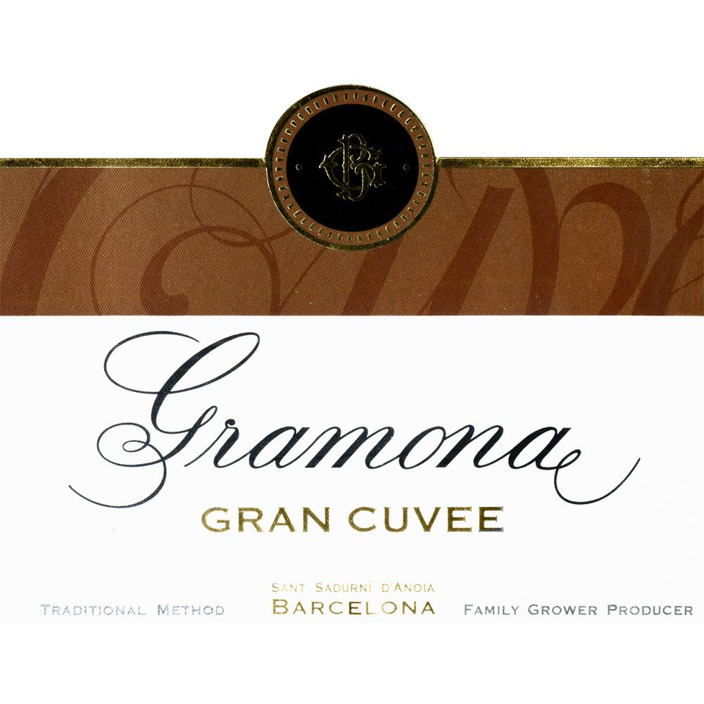 Gramona Grand Cuvee Cava 2008 Front Label