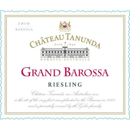 Chateau Tanunda Grand Barossa Riesling 2010 Front Label