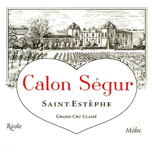 Chateau Calon-Segur  2011 Front Label