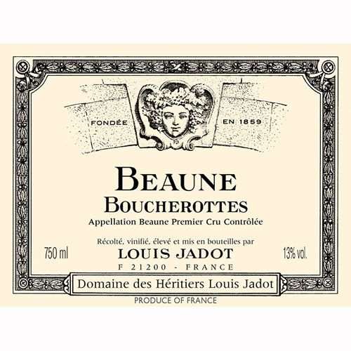 Louis Jadot Beaune Boucherottes 2009 Front Label
