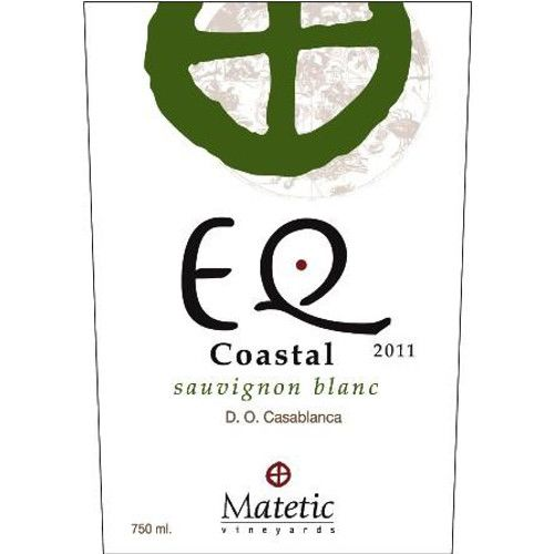 Matetic EQ Coastal Sauvignon Blanc 2011 Front Label