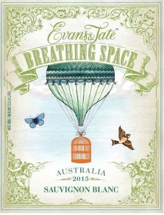 Evans & Tate Breathing Space Sauvignon Blanc 2015 Front Label