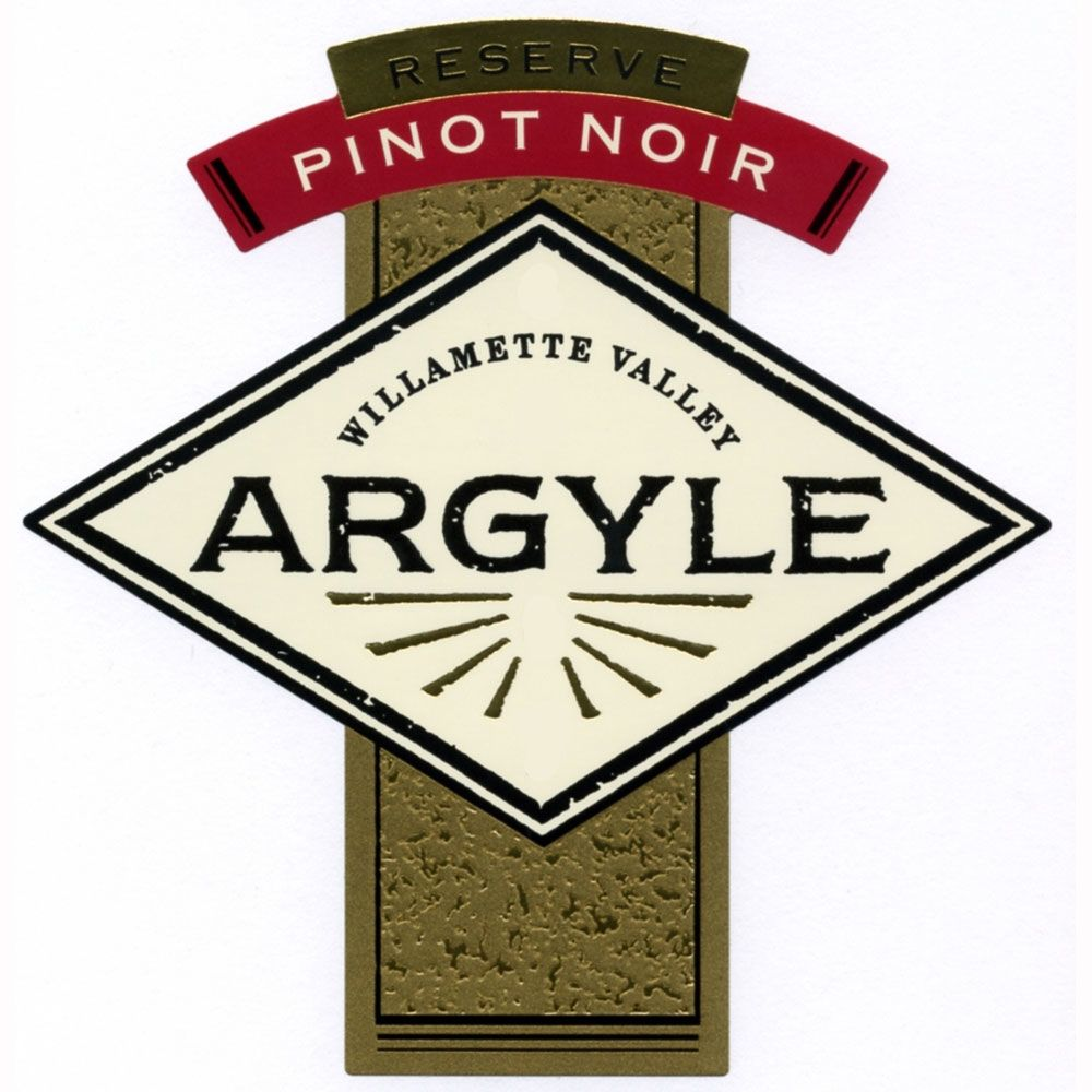 Argyle Reserve Pinot Noir (375ML half-bottle) 2009 Front Label