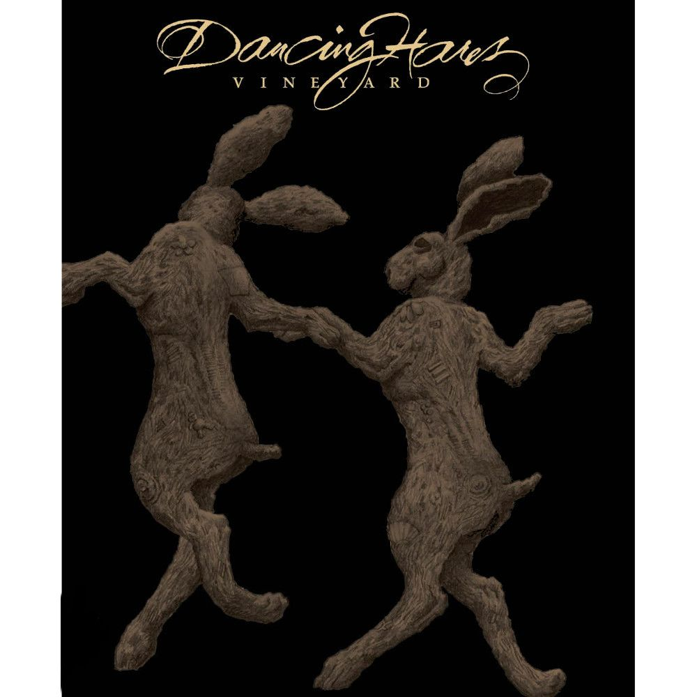 Dancing Hares  2008 Front Label