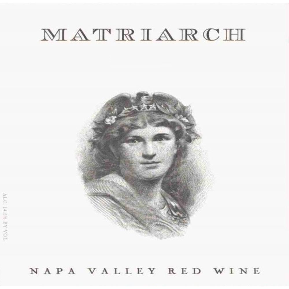 Bond Matriarch 2008 Front Label