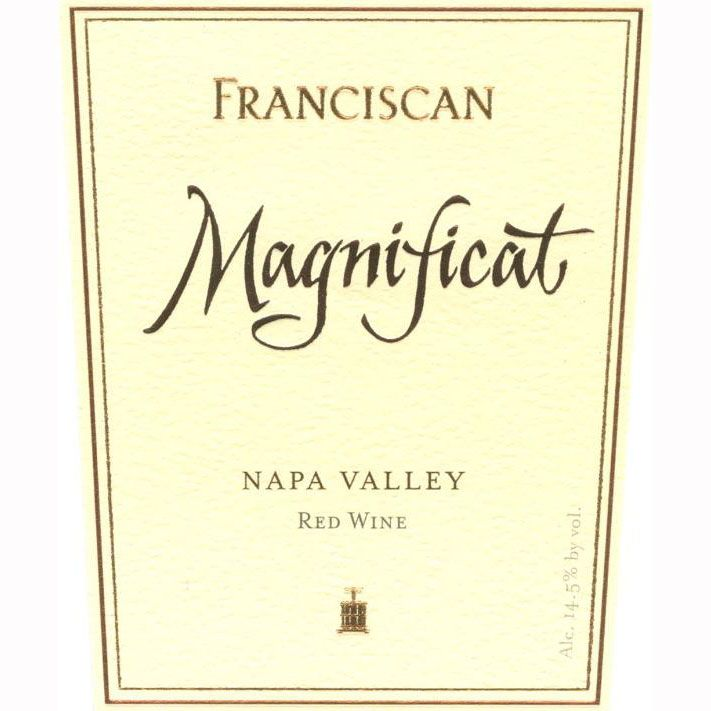 Franciscan Estate Magnificat 1994 Front Label