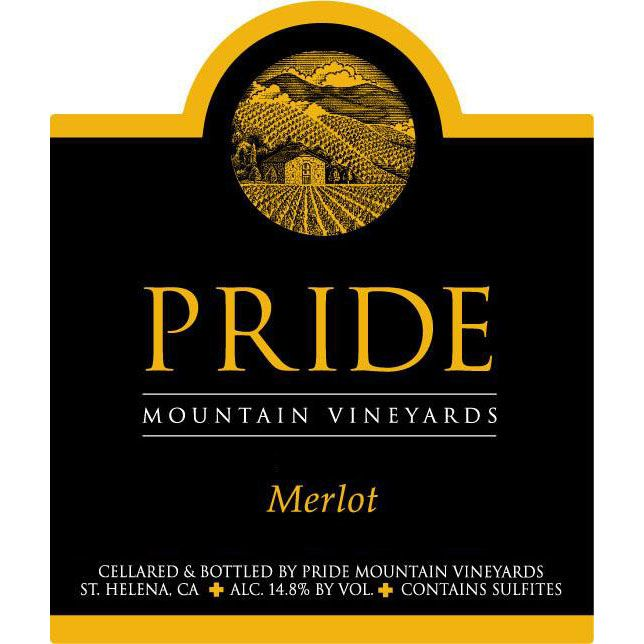 Pride Mountain Vineyards Merlot (1.5 Liter Magnum) 2003 Front Label