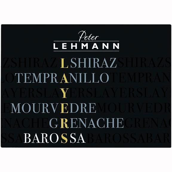 Peter Lehmann Layers Red 2010 Front Label